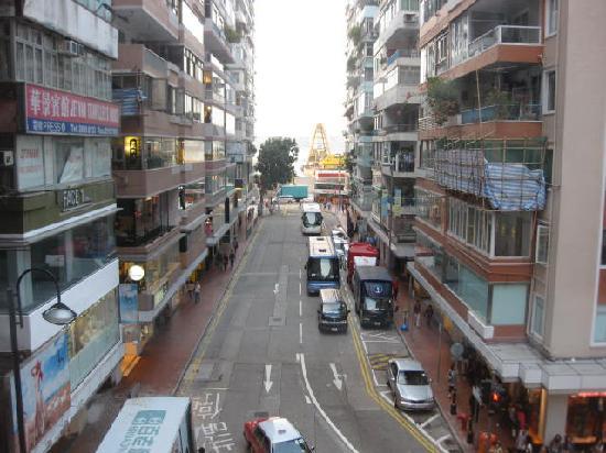 Comfort Hostel HK: view from window 1