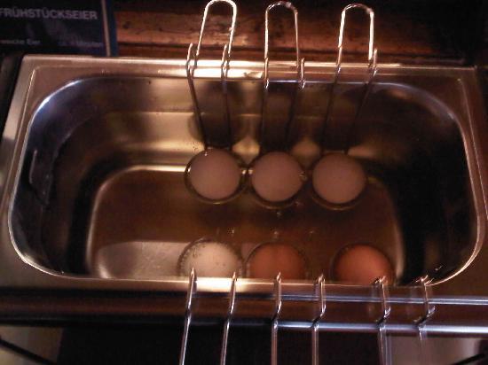 Hotel Ochsen: Egg Counter - only boil eggs
