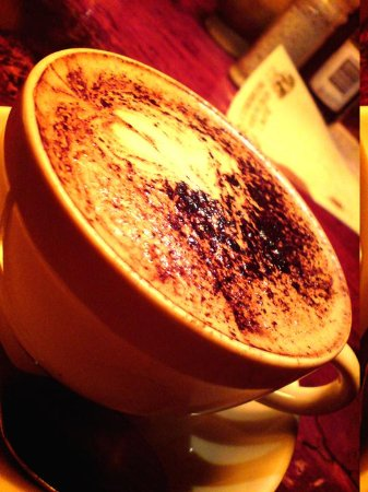 Yellow Deli: cappucino