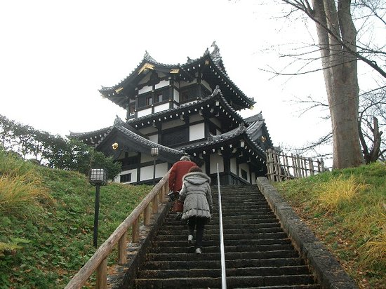 Joetsu, Japon : 高田城3階櫓