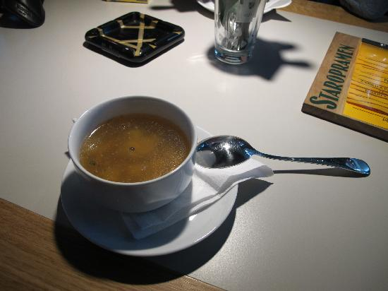 Potrefena Husa : la zuppa d'aglio (cesneska)