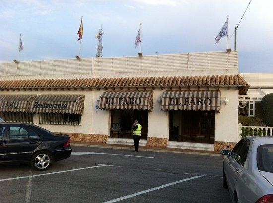 El faro santa pola carretera n 332 calle alicante km - Restaurante el faro madrid ...