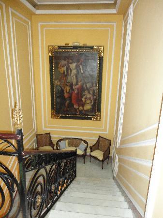 Hotel Villa de la Palmera: Escaleras