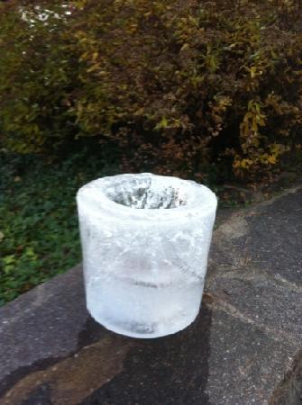 Hotel Weihrerhof: i lampioncini di ghiaccio!!!!
