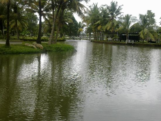 The Lake Village Heritage Resort: Private lake