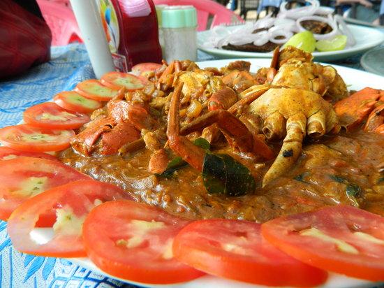 Cafe Del Mar: Crab masala at Del Mar