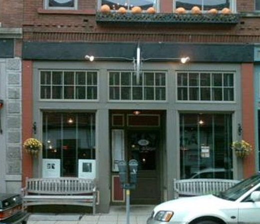 The Franklin Cafe Cape Ann is located on Gloucester's Victorian Main Street.  In summer, when th