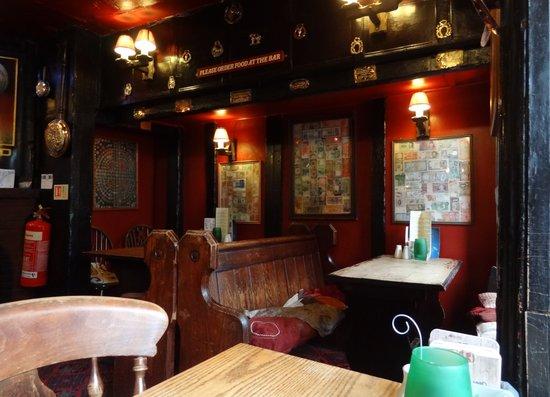 The Turks Head: Interior of pub
