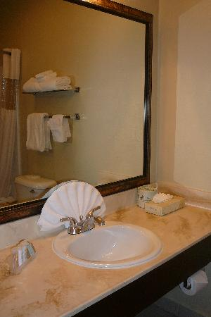 Travelodge la Mesa CA: Bathroom 2