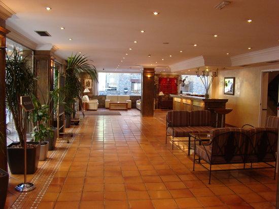 Hotel Princesa Parc: recepcion