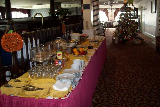 BEST WESTERN PLUS San Pedro Hotel & Suites: breakfast buffet