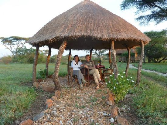 Ikoma Safari Camp: colazione