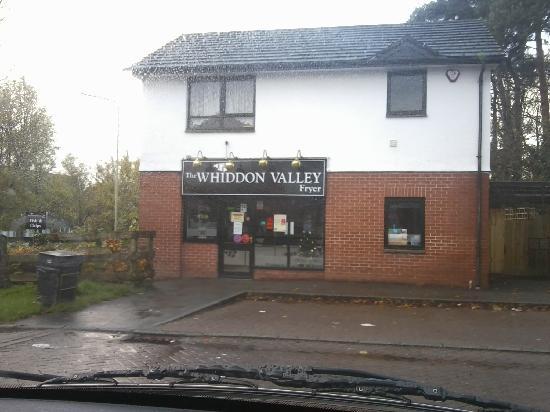 Premier Inn Barnstaple Hotel : Chip shop up road