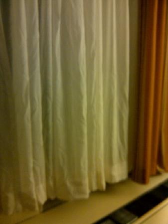 Atlantica Hotel Halifax : wrinkled curtains