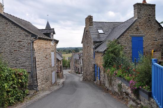 Hotel du Tertre : Une petite rue pittoresque.