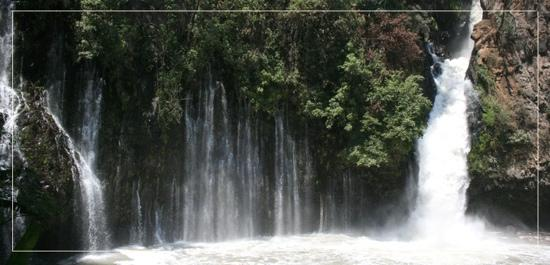 Uruapan, Mexico: La Tzararacua. Water Fall