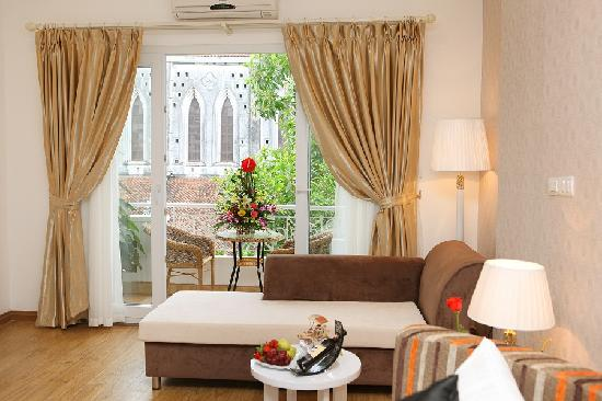 Splendid Star Suite Hotel: Honeymoon room