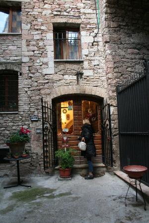 INGRESSO ALLO HOTEL - Picture of Hotel Lieto Soggiorno, Assisi ...