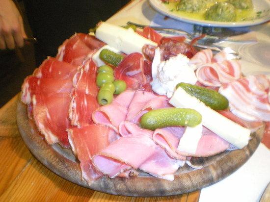 Daiano, Italien: tagliere del maso