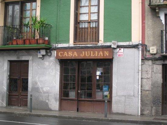 Tolosa, España: una entrada real