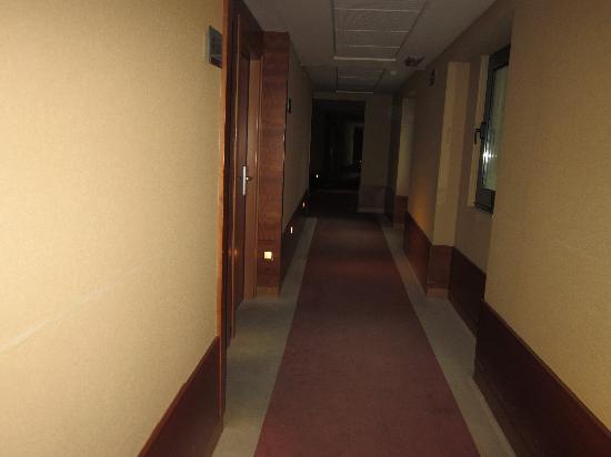 Turim Europa Hotel: Pasillo de la habitacion