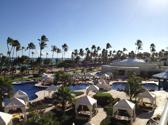 Iberostar Grand Hotel Bavaro: View from our ocean front suite 7220