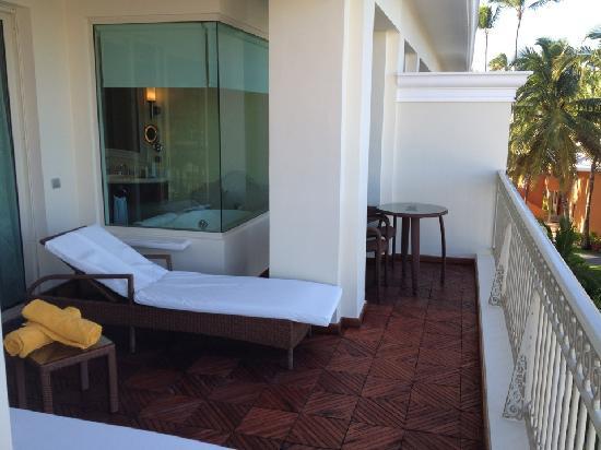 Iberostar Grand Hotel Bavaro: Our balcony in suite 7220
