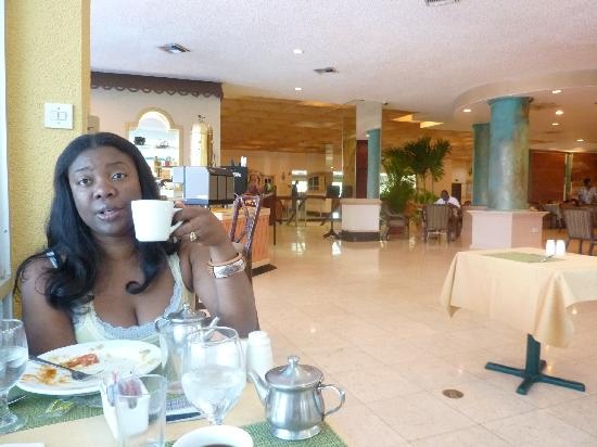 The Jamaica Pegasus Hotel: breakfast was included
