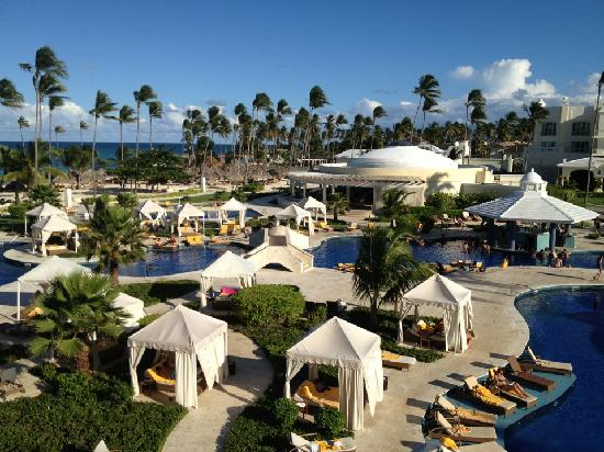 Iberostar Grand Hotel Bavaro: View from the ocean front suite 7220