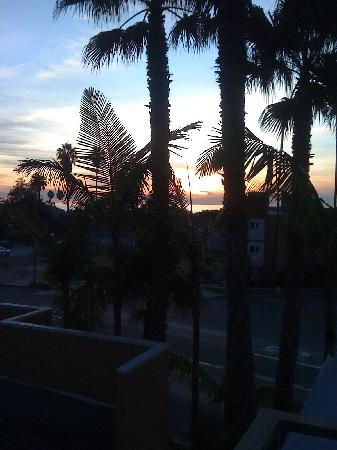 Holiday Inn Express La Jolla: View from 3rd Floor deck