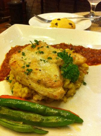 The Gustavian: Chicken Risotto