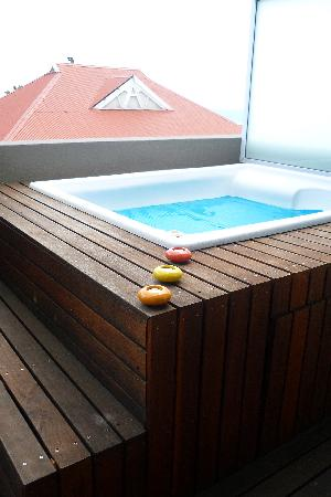 O on Kloof Boutique Hotel & Spa: Jacuzzi