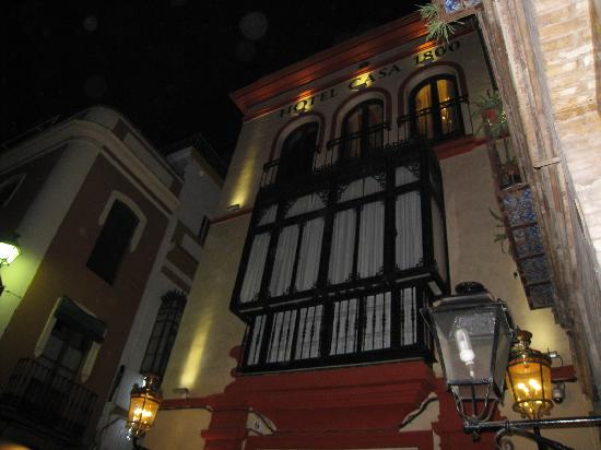 Hotel Casa 1800 Sevilla: Fachada principal