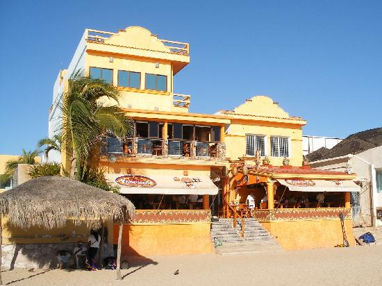 Pancho's beach side entrance