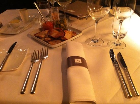 Hotel Messeyne: lovely diner