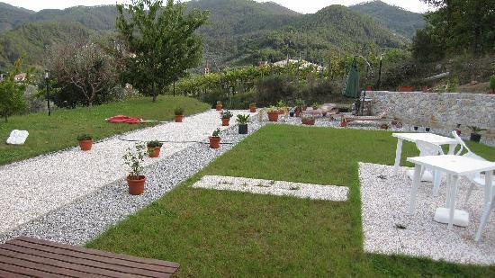 La Collina Verde: Terrasse