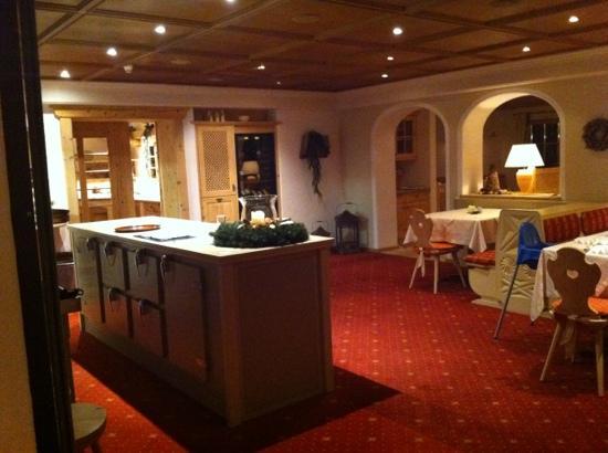 Hotel Residence St. Kassian: i gresso ristoro
