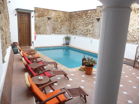 La Villa Marbella: One of the pool areas of our home