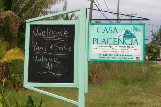 Casa Placencia Belize: Jacki welcomed us personally!