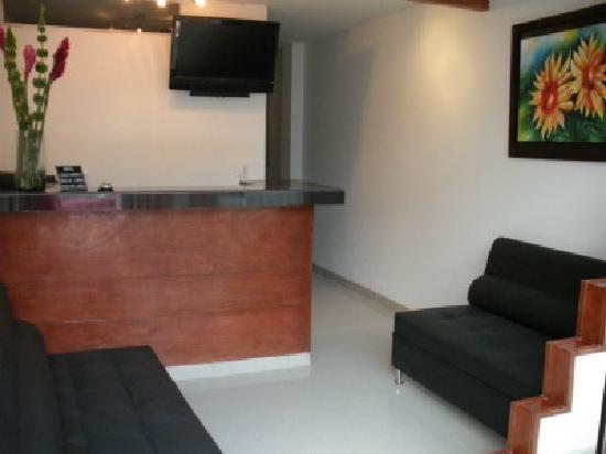 Hotel Casa Sarita: Recepcion