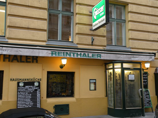 Gasthaus Reinthaler: Main entrance