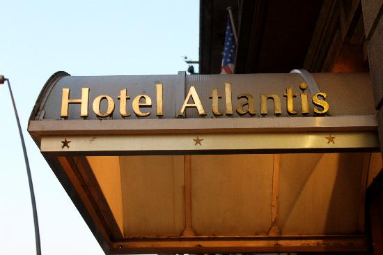 Hotel Atlantis : Sign