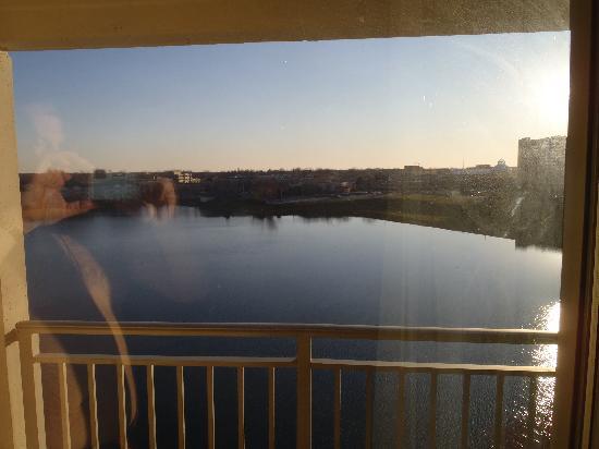 Marriott Indianapolis North: Balcony view