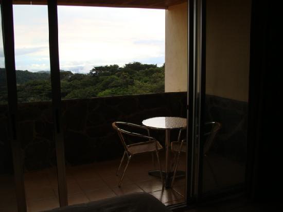 Hotel Montana Monteverde: The balcony