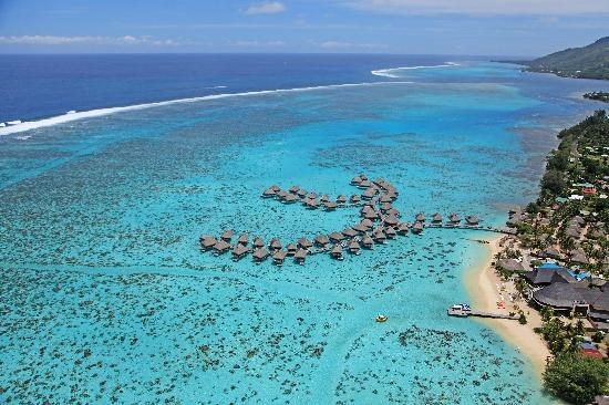 Hilton Moorea Lagoon Resort & Spa: Aerial View 3