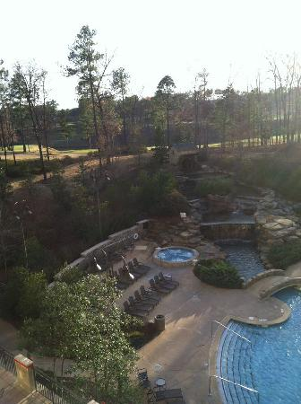 Renaissance Birmingham Ross Bridge Golf Resort & Spa: View from our balcony