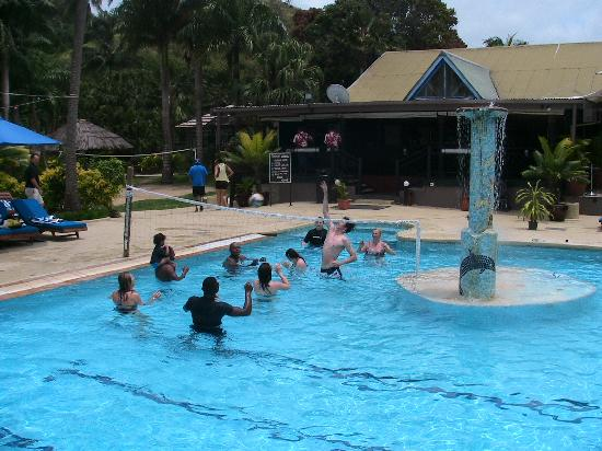 Fiji Hideaway Resort & Spa: volley ball competition