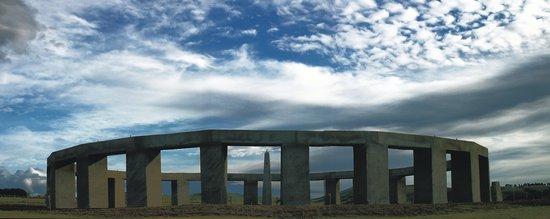 Carterton, نيوزيلندا: Stonehenge Aotearoa panorama