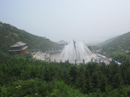 Shidao Chishan Scenic Resort: goddess show with release of water