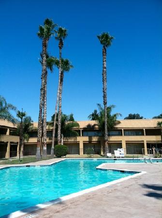 Days Inn Bakersfield : nice rooms facing a large pool